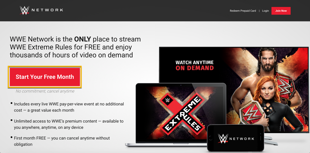 WWE Network Help - Subscribe to WWE Network